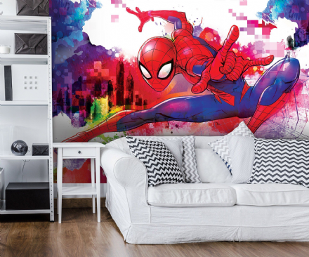 Spider-man Marvel wall mural wallpaper